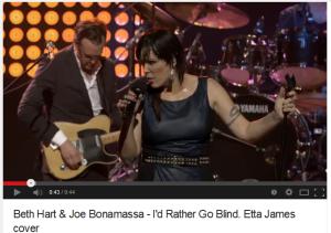 Beth Hart - Joe Bonamassa - I'd rather be a blind girl
