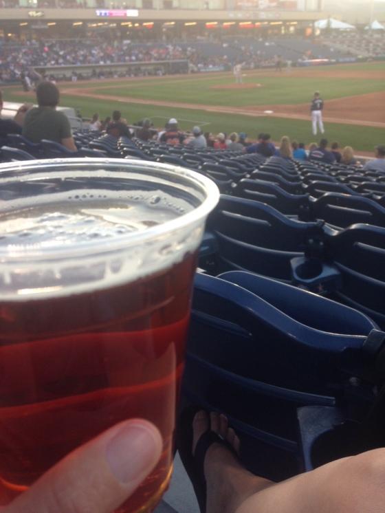 dale's pale ale at the ballpark - Reno Aces