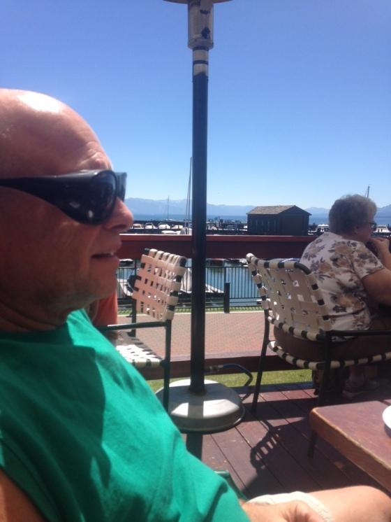 overlooking the marina, Jakes on the Lake, Tahoe City, Nevada