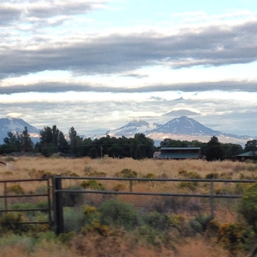Sister Mountains in Oregon