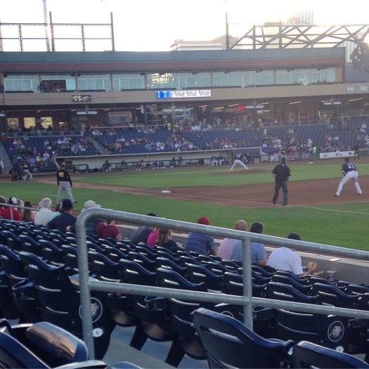 Baseball at the Reno Aces ballpark