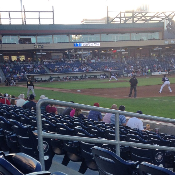 Baseball at the Reno Aces ballpark